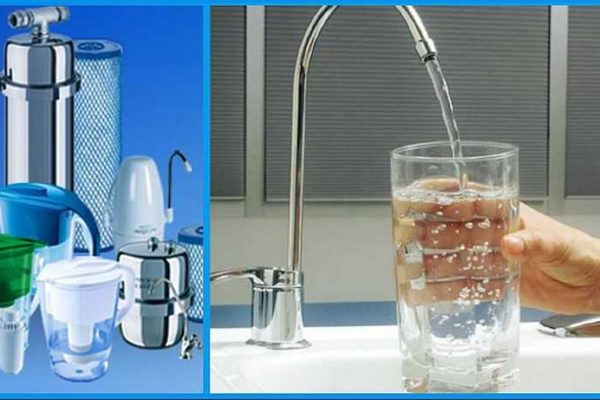 What types of water filters are there?